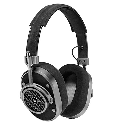 MASTER AND DYNAMIC Mh40 over-ear gunmetal & alcantara headphones