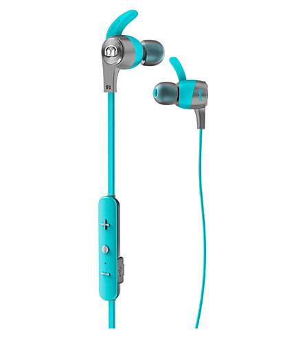 MONSTER iSport Achieve Wireless In-Ear Headphones (Blue