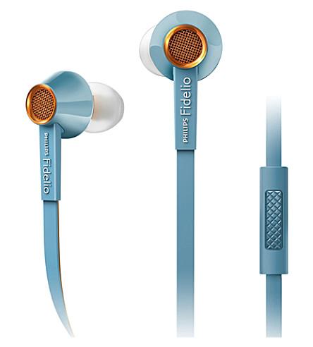 PHILIPS Fidelio S2 in-ear headphones with mic