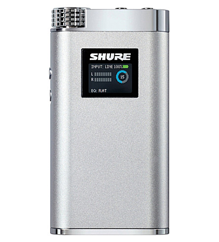 SHURE Sha900 portable headphone amp