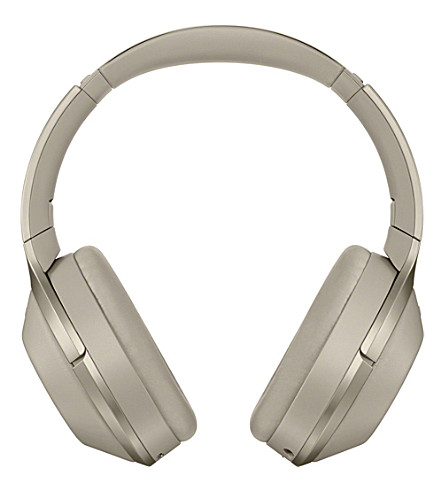 SONY MDR-1000X Wireless Noise Cancelling Headphones (Biege