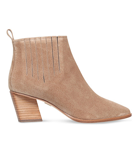 ROGER VIVIER Pointed suede ankle boots