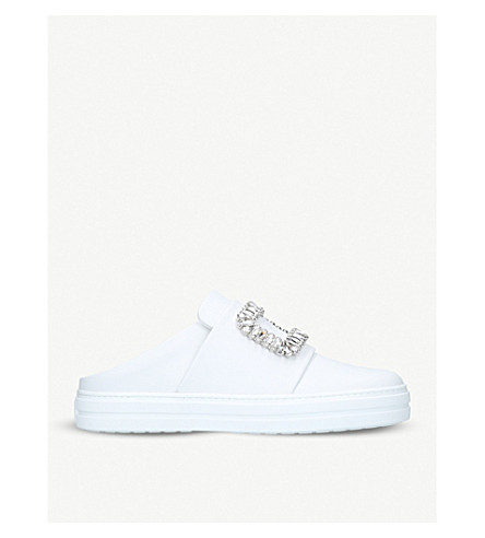 ROGER VIVIER Sneaky Viv backless trainers (White