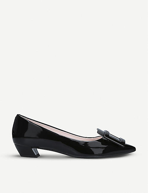ROGER VIVIER Gommette Ball patent-leather courts
