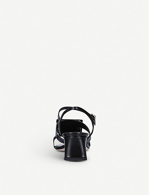 ROGER VIVIER Bikiviv buckle-embellished heeled leather sandals