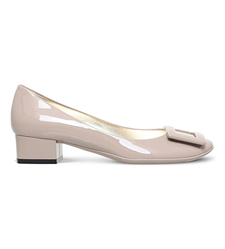 ROGER VIVIER Belle de nuit patent-leather courts