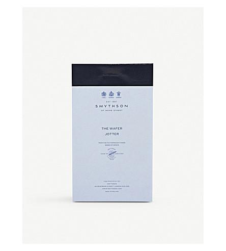 SMYTHSON Wafer jotter refill 10.5x6cm (White