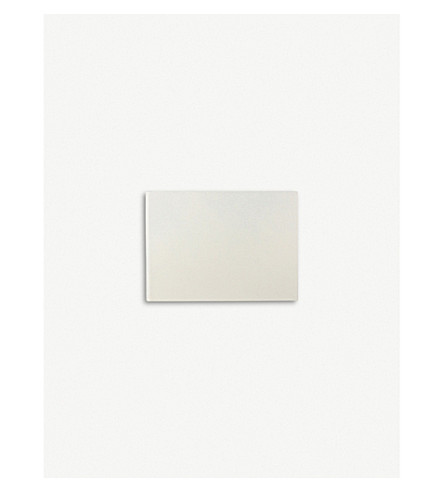 SMYTHSON Hardbound leather photo album small (Chalk