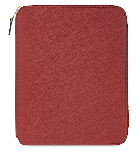 SMYTHSON Panama A5 writing folder 24cm