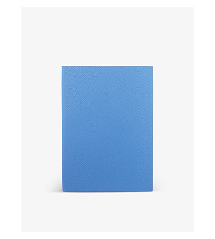 SMYTHSON Soho leather notebook 20cm (Bluenileheritage