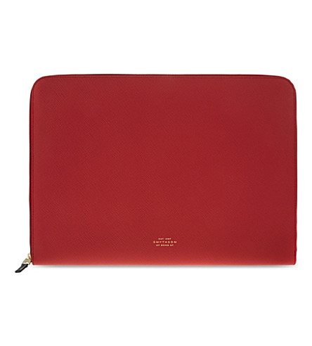 SMYTHSON Panama leather 13