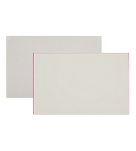 SMYTHSON Bordered correspondence cards pack of ten