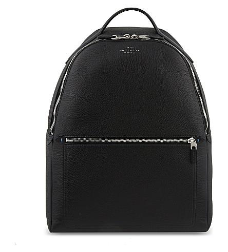 SMYTHSON Burlington deerskin backpack (Black