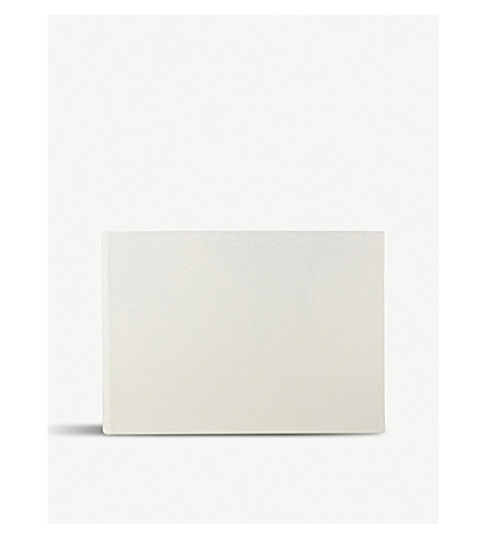 SMYTHSON Bijou leather photo album (Chalk