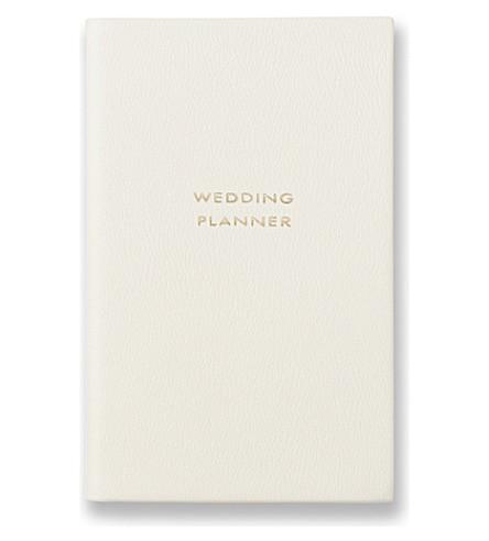 SMYTHSON Wedding planner panama notebook (Chalk