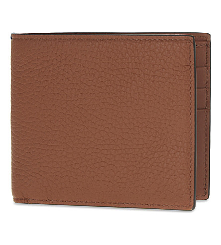SMYTHSON Burlington leather card wallet