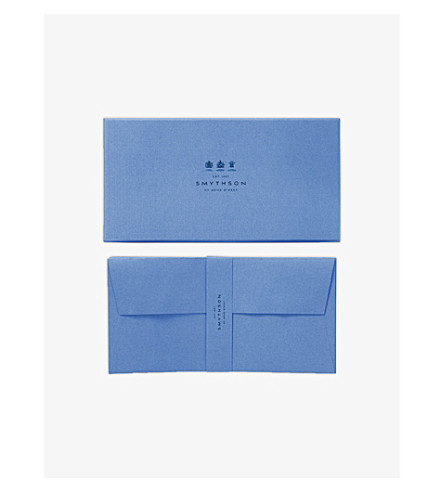 SMYTHSON Watermarked wove envelopes (Cream
