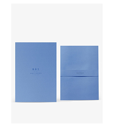 SMYTHSON Watermarked wove A4 writing paper (White