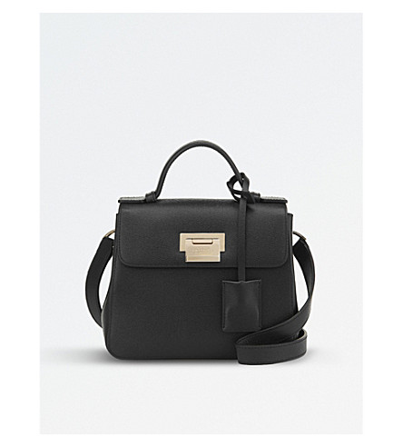 SMYTHSON Grosvenor Mini crossbody bag (Black