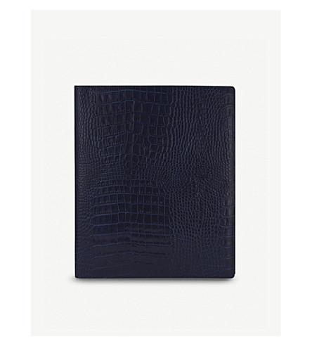 SMYTHSON Mara A5 writing folder (Navy