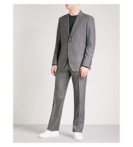 REISS Clemence classic-fit wool suit (Charcoal