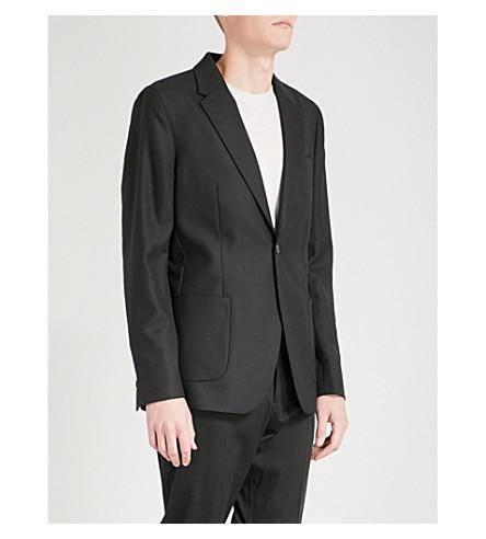 REISS Rage slim-fit wool jacket (Black