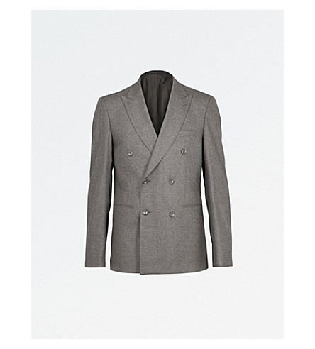 REISS Chianti wool blazer (Brown