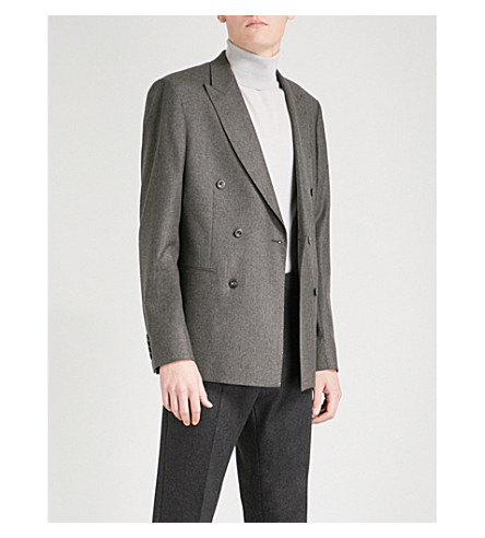 REISS Chianti wool blazer (Brown
