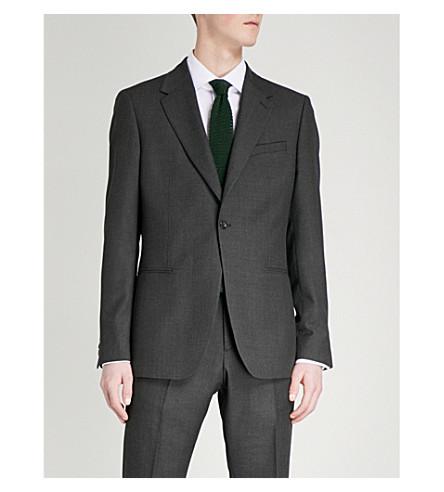REISS Blackmore B slim-fit wool jacket (Grey