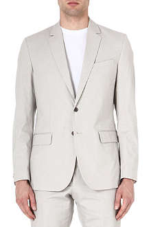 REISS Miami patterned blazer