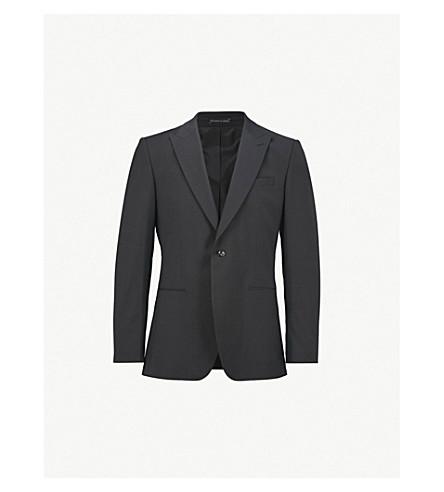 REISS 信念摩登版型羊毛混纺西服夹克 (黑色