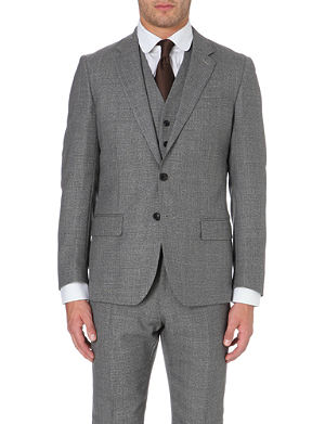 REISS Charles modern-fit single-breasted jacket