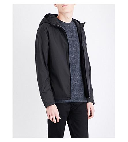 REISS Cassidy shell jacket (Black