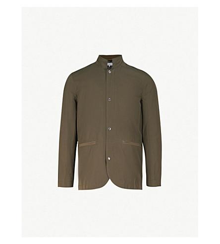 REISS Varese shell jacket (Khaki