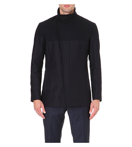 REISS Demetrius contrast jacket (Navy