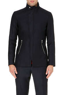 REISS Raekon twill technical jacket