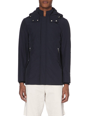 REISS Monmouth hooded jacket