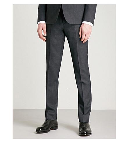 REISS Daze T slim-fit wool trousers (Navy