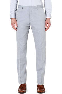REISS Woodland lightweight cotton trousers