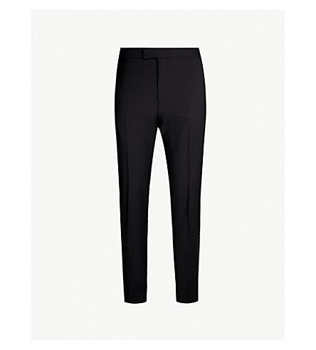 REISS 信仰摩登版型羊毛混纺裤子 (黑色