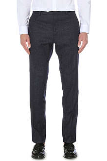 REISS Snowdon T Flecked Modern wool-blend trousers