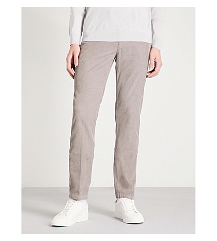 REISS Westbury slim-fit tapered stretch-cotton chinos (Navy