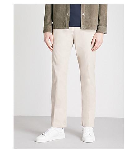 de de chino REISS pantalón Tanker recta fit sarga slim algodón aXXx4qCw