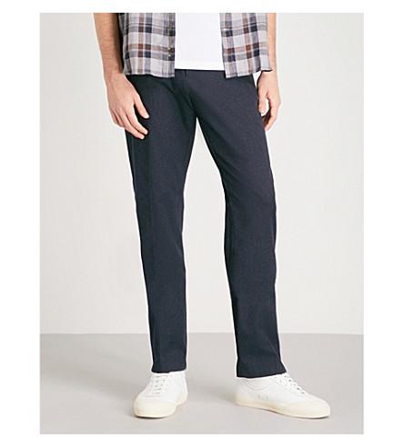 pantalones corte cambray Isola rectos REISS relajado de Indigo de 5n7awSZSq