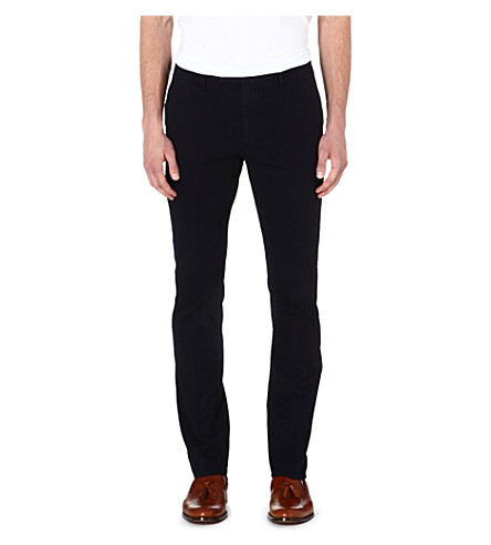 REISS Heavyweight Tullum twill chino (Navy