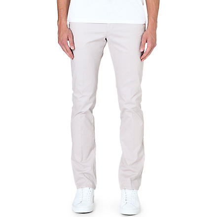 REISS Bennett stretch-cotton chinos (Stone