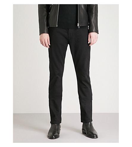 REISS Allman slim-fit straight jeans (Black