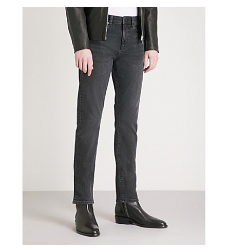 negros Jeans REISS Lavados ajustados slim Fury fit Uqpzn1W