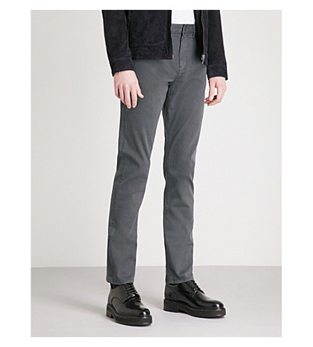 REISS Horris slim-fit tapered jeans (Charcoal