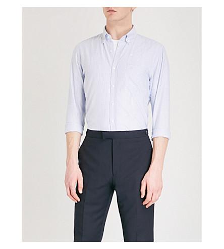 REISS Taylor cotton shirt (Soft+blue